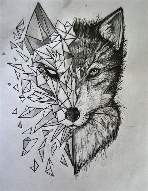 wolf tattoo  herzlose  deviantart