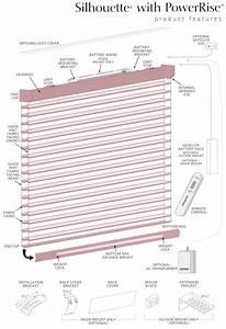 Hunter Douglas Silhouette Window Shadings Powerrise 2 0 Optional Lift System