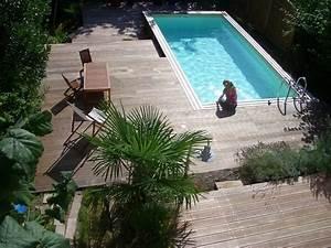 Piscines Semi Enterrées : les 25 meilleures id es de la cat gorie piscine semi ~ Zukunftsfamilie.com Idées de Décoration