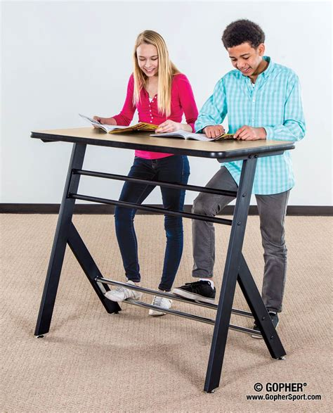 standing desks for students yze standing desk gopher sport