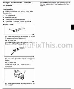 John Deere X465 X475 X485 X575 X585 Repair Manual  Garden