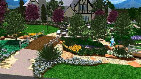 landscapes by design 3d landscape design virtual presentation studio presents garden view landscape youtube