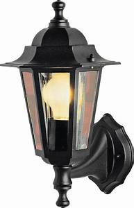 home black outdoor wall lantern With argos outdoor lights with sensor