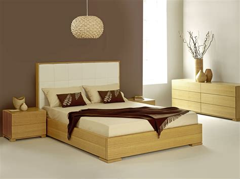 gorgeous modern apartment bedroom ideas with oak