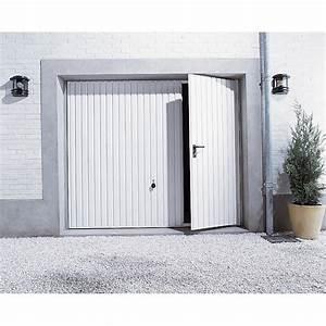 Porte De Garage Basculante N80 Portillon Gauche PRIMO