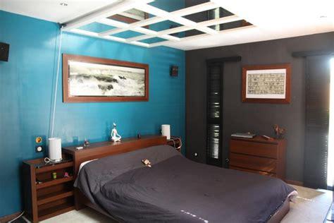 deco chambre bleu et marron décoration chambre bleu et marron