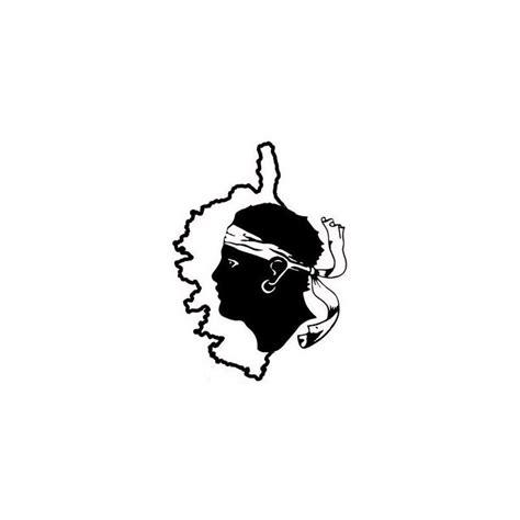 renault nissan logo sticker corse tête de maure déco voiture etiquette