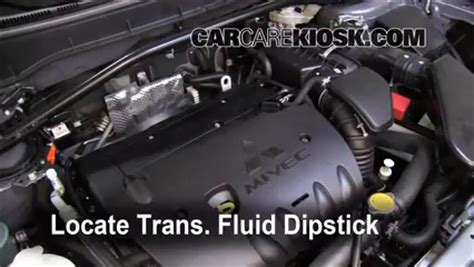 mitsubishi outlander transmission fluid car tech