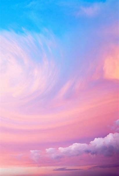 Sky Pink Wallpapers Clouds Candy Iphone Cotton