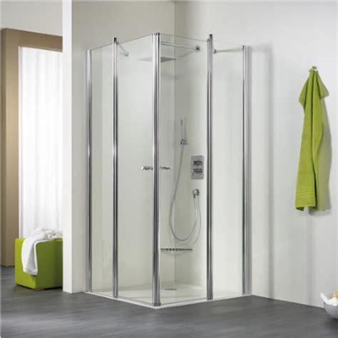 hsk exklusiv eckeinstieg 4 teilig 90x90x200 g 252 nstig kaufen bei badshop austria shop