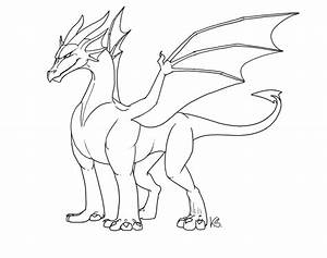 free dragon outlines ii by suzidragonlady on deviantart With dragon cutout template