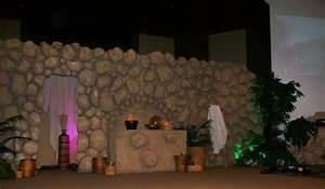 Light Up Theater Sign Eps Foam Stone Wall Stage Backdrop Kidmin Children 39 S