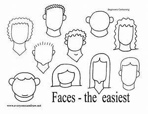 Easy Faces | Tangled Up In Doodling | Pinterest | Cartoon ...