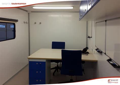 bureau edf shelter with offices toutenkamion