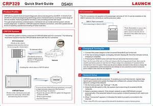 Launch Tech Ds401 Automotive Diagnosis Terminal User Manual