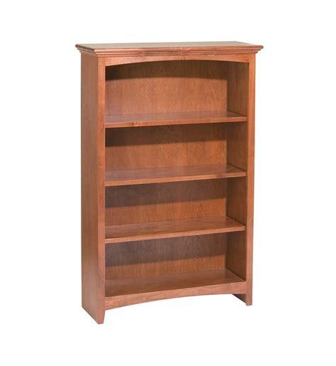 mckenzie alder bookcase    barrs furniture