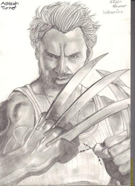 Wolverine Sketch By Littleleonard On Deviantart