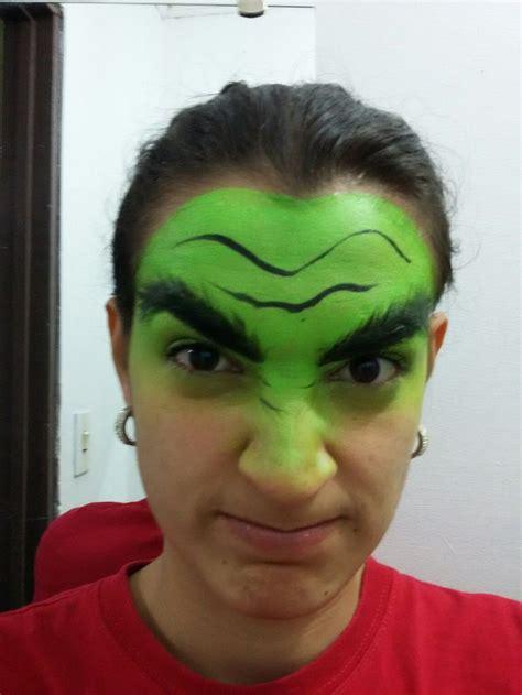 Hulk pintacaritas Caras Pintar Hulk