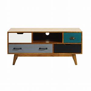 meuble tv scandinave maison du monde urbantrottcom With meubles tv maison du monde 2 meuble tv bois naturaliste maisons du monde