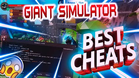If you have been playing for some time now, you may be on the lookout for freebies to help you become a giant legend. ♥BEST CHEATS♦GIANT SIMULATOR♦NEW SCRIPT♥ - YouTube