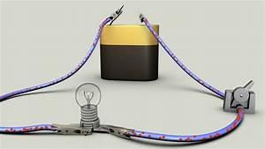 Elektrisches Potential Berechnen : stromfluss mit batterie schalter und gl hlampe doovi ~ Themetempest.com Abrechnung