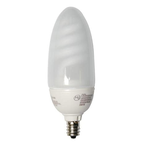 philips 9w warm white candelabra e12 fluorescent light