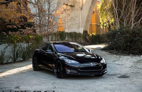 Tesla Model S Black 4k Ultra Hd Wallpaper