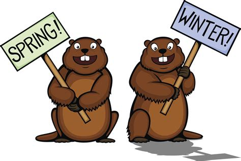 Groundhog Day Clipart Groundhog Clipart February Pencil And In Color Groundhog