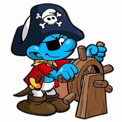 Smurf Pirate Cartoon Smurfs Characters Village Navigator