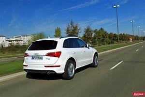 Audi Q5 Blanc : infiniti ex vs audi q5 deux suv chauff s blanc photo 9 l 39 argus ~ Gottalentnigeria.com Avis de Voitures