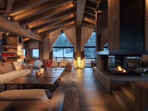 chambre chalet de luxe chalet de luxe 5 étoiles la bergerie décoration maison
