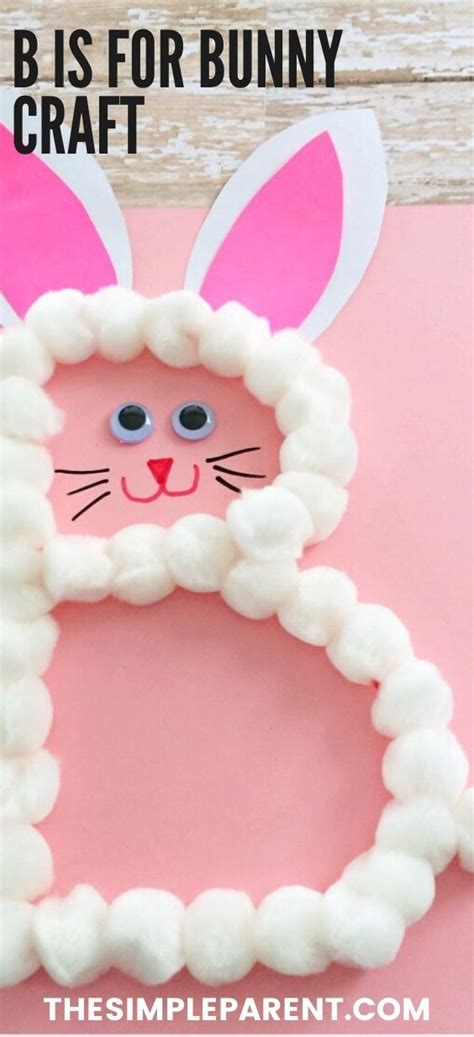 preschool letter  craft    bunny great  easter