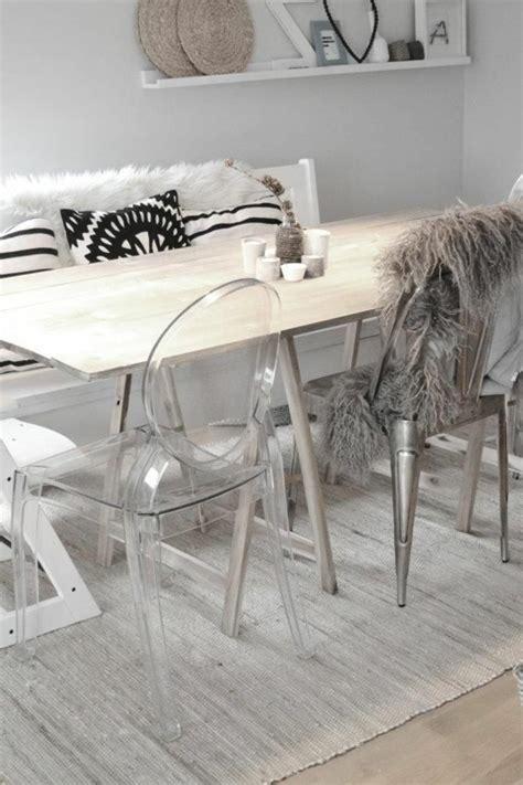 chaise de bureau transparente pourquoi choisir la chaise design transparente