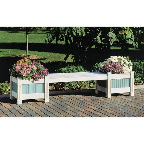 classic planter bench woodworking plan  wood magazine