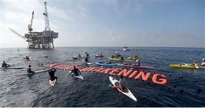 Holly Platform Oil Many Ocean Lands Meeting