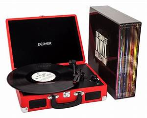 The Complete Vinyl Collection Record Player/LP Set - Red ...