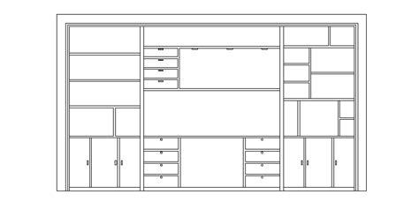 bloques autocad gratis de mueble de sala visto en alzado