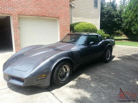 corvette  top  gray  black interior