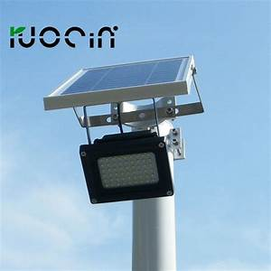 Solar sensor light waterproof led flood
