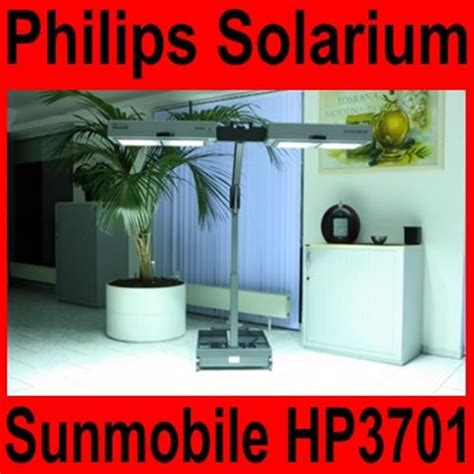lade solarium solarium philips sunmobile hp 3701 homesun sonnenbank