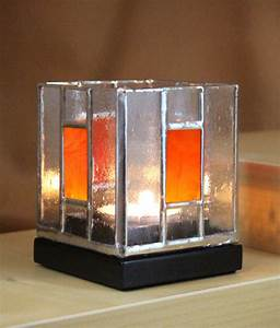 beveled glass candle holders stained - 28 images - blue
