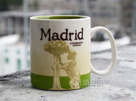 Wholesale Starbucks City Series Ceramic Coffee Mug Bone