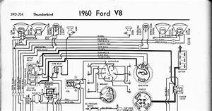 Free Auto Wiring Diagram  1960 Ford V8 Thunderbird Wiring