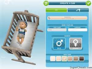 sims freeplay baby change