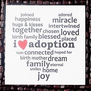 I love #adoptio... Etsy Adoption Quotes
