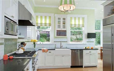 Cream Gloss Kitchens Ideas - 15 cheery green kitchen design ideas rilane