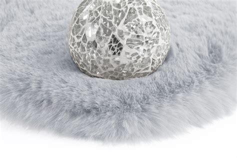 teppich rund 100 216 160 teppich rund rabbit 100 arte espina grau blau