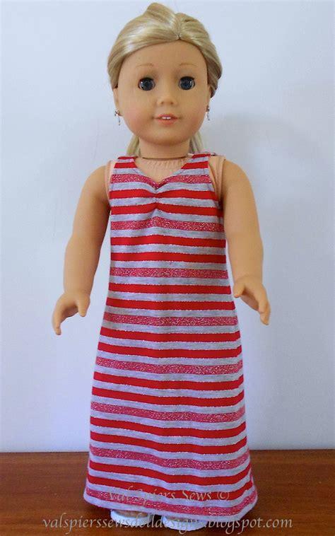 doll clothes patterns  valspierssews maxi dress