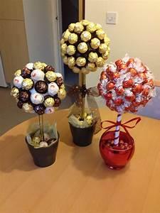Süßigkeiten Baum Selber Machen : s e naschb ume mit ferrero rocher and lindor schokolade geschenke s igkeiten geschenk ~ Orissabook.com Haus und Dekorationen
