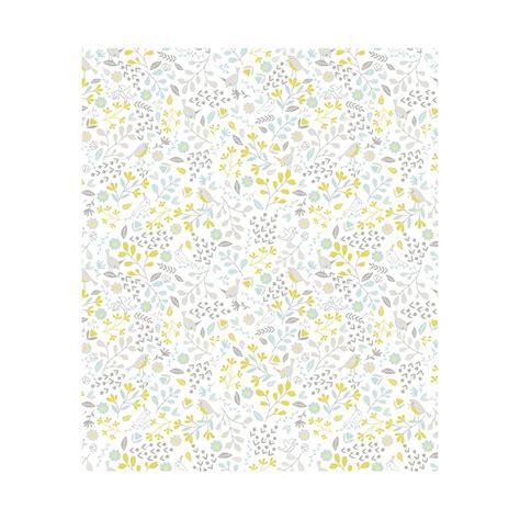 l 233 de papier peint enfant fleurs et oiseaux chambre de gar 231 on lilipinso